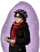 iscribble - violet snow by yamilink