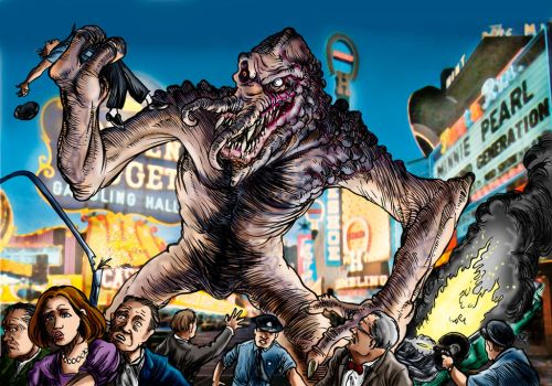 The Las Vegas Monster by Loneanimator