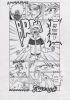 Naruto vs. Link Doujinshi p.7 by FreezingStudio