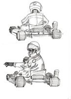 kart driver by concho
