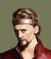 Henry V_head close up by WisesnailArt