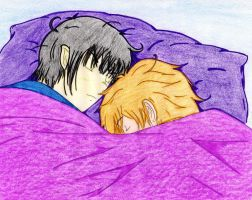 ST - Sleeping Spirk by quinmari