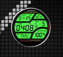 Rosenburg Pro Watch for xwidget by jimking