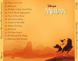 Mulan Back CD Cover by peachpocket285