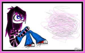 just an emo girl by irrr