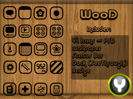 WooD iphone Theme by yrmybybl