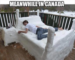 Meanwhile in Canada by onyxcarmine