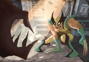 Wolvie V. Sabbs by jusscope