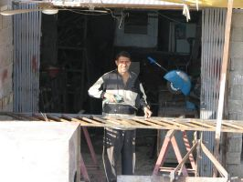 Iraqi Welder by SLug1