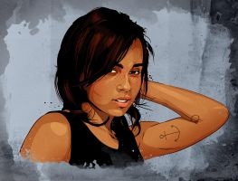 Zoe Kravitz by Joey-Zero