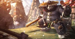 WorldofWarcraft Mists of Pandaria Chen Stormstout by NOOSBORN