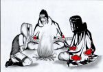 ItaSaku: By the fire w Kisame by InTheArmsOfUndertow