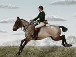 St George's Day Hunt - Valentine and Woodlark by oingy-boingy