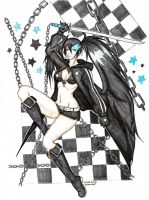 BlackRockShooter by CrimsonStigmata2501