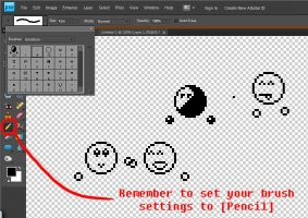 Emoticon Brushes by Salamander-Stock
