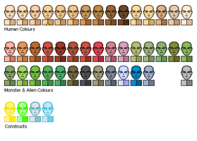 Template - Skin Colours by Sleeping-Demons