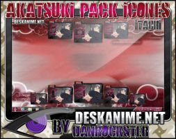 Itachi Pack Icons by Danrockster