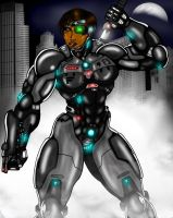 Mostly Machine, All Woman (Deuce) by Mr-Marcus-81