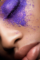Powder Eyeshadow Beauty Photography by michellemonique