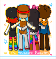 The Mischievous Marauders! by Blue-Hoodie
