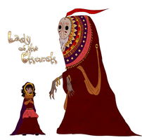 Lady of the Church by LivingAliveCreator