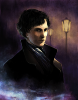 Sherlock - London Nights by nou-e