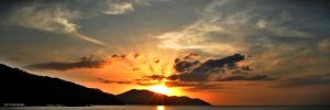 Sunset at Penang Island by lincapone