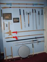 The Wall of Swords by chioky
