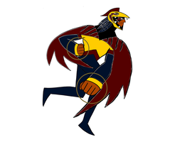 Super Eagle Thunderbird simplified by keithrchapman