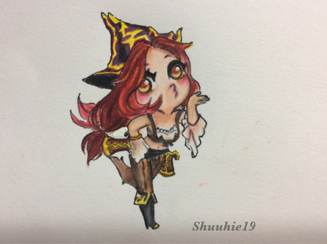Miss fortune for resin work by shuuhie19