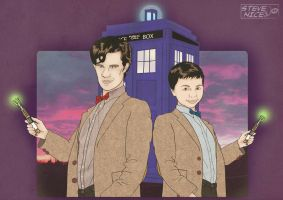 Mini Dr Who by Steve-Nice