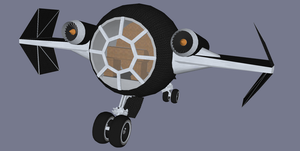 Celtic Marine Corps Tie Fighter by Jethro-Lee-Gibbs