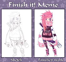 Finish meme by vannbun