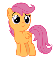 Vector: Scootaloo by EStories