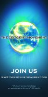 Zeitgeist Movement 1x2 poster by gabssnake