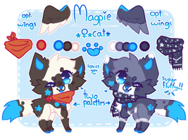 + magpie ref 2017 + by ChaiFoxi