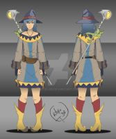 Concept: Party Member (Healer/Mage) by Kitsu-DR