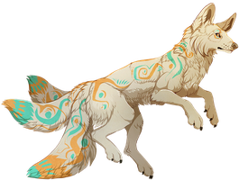 Kitsune by MapleSpyder