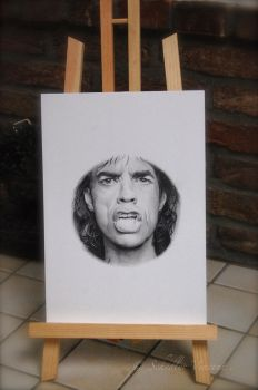 Mike Jagger - On progress . by Cap007
