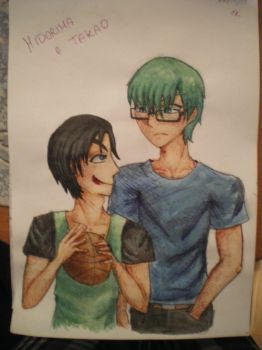 [KnB] Takao, give me that ball... by EroEmo-chan