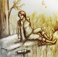 Katniss - How It Used To Be by The-demons-heart