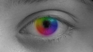Rainbow Eye by MarzEz