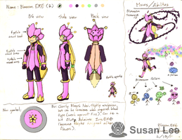 Concept: Blossom.EXE by Su5anLee