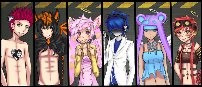 Syndrone Art : Mod contest by qtest-lil-angel