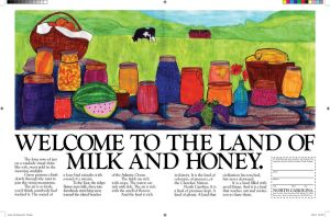 The Land of Milk and Honey Spread Concept by cupycake66