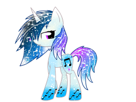 Galaxy Rainbowfied Vinyl Scratch by DigiTeku