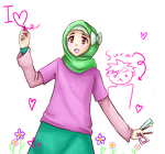 MuslimManga Contest~ Aya by Frills-Of-Justice