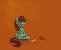 Commission - Acorn pony by ponywise