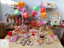 Valentine's Day 2016 Miniature food collection by LittlestSweetShop