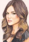 Lucy Hale by Thanatasia666